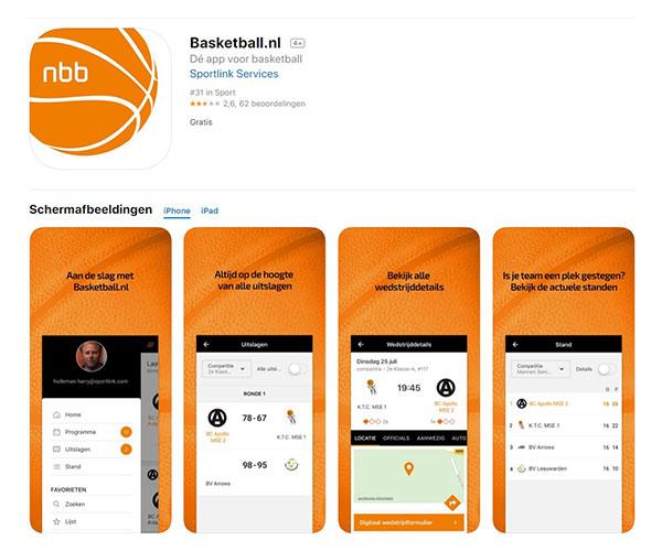 Basketball app